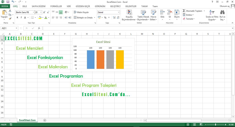 Excel Sitesi - Excel Vba Forumu